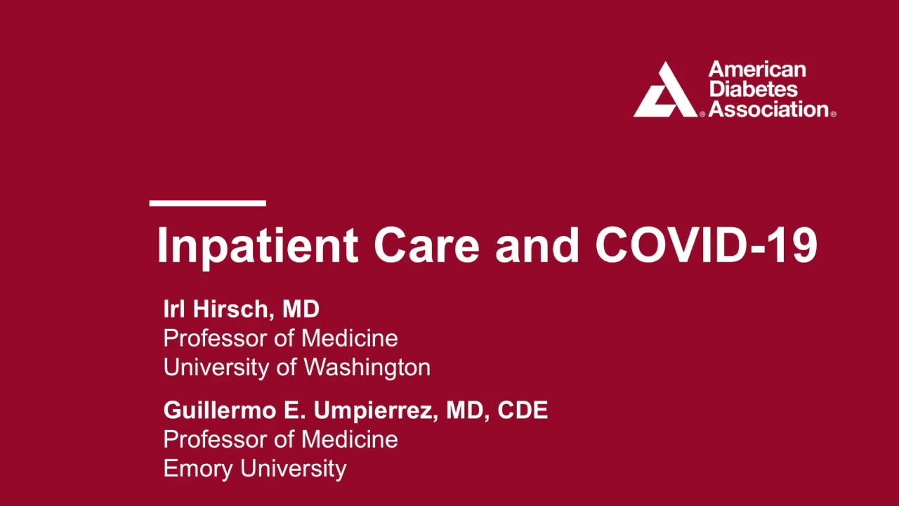 Inpatient Care and Covid-19