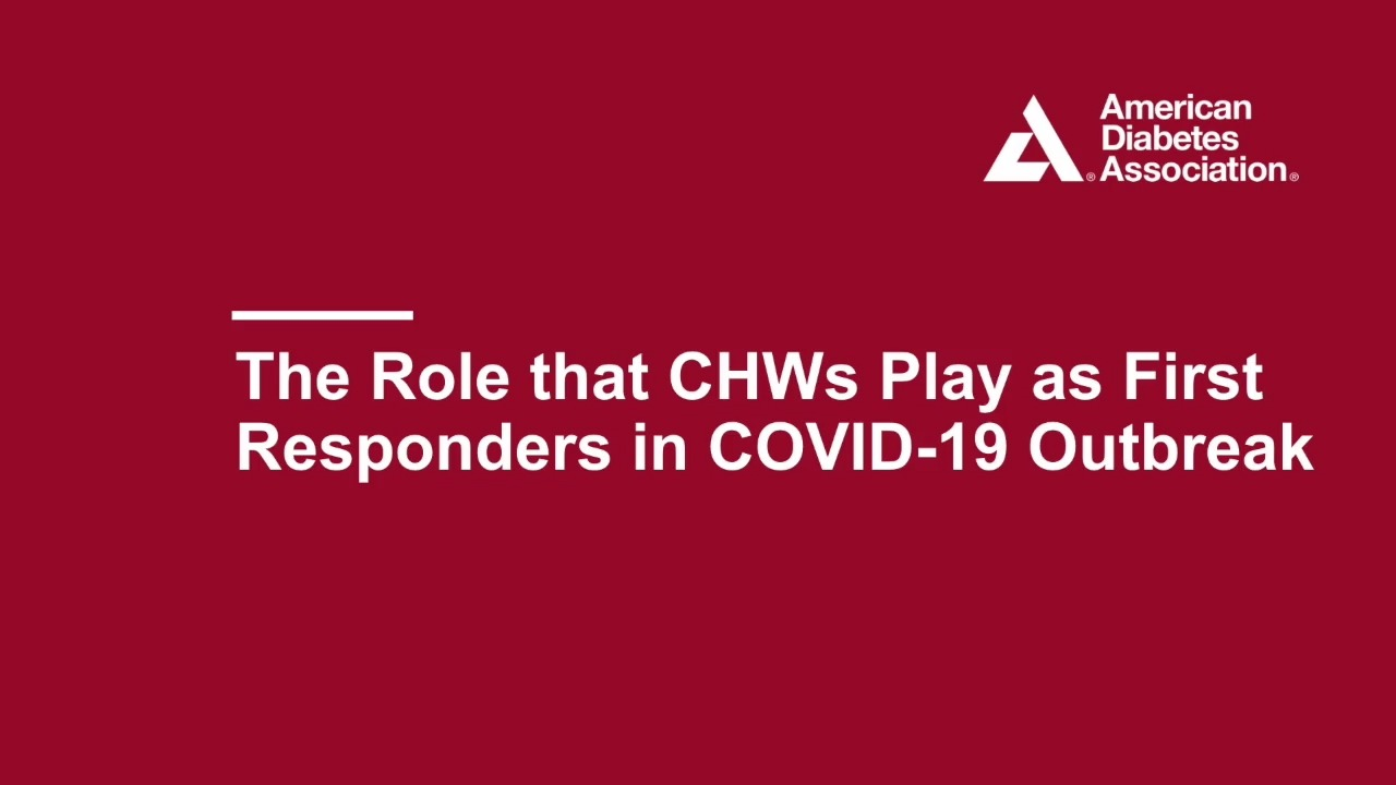 CHWs as First Responders in Covid