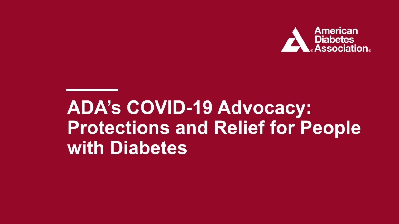 Covid-19 and ADA Advocacy Work