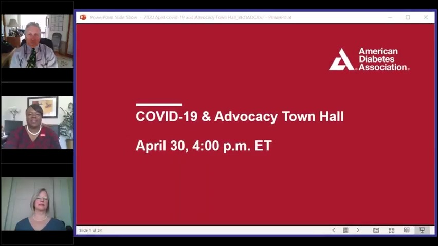 COVID-19 and ADA Advocacy Town Hall